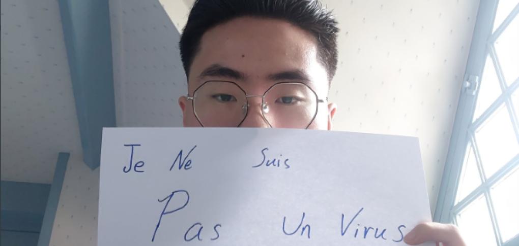 """Le hashtag devenu viral sur les réseaux sociaux """"Je ne suis pas un virus"""""""