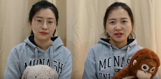 Deux étudiantes chinoises expatriées en Australie