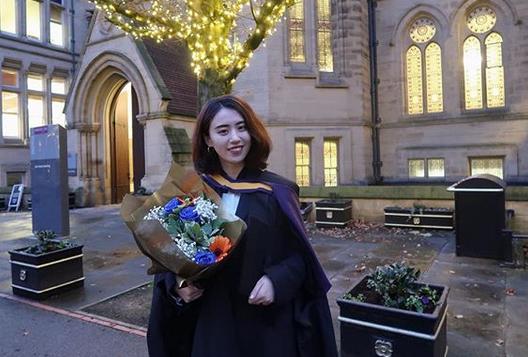 Jing Jing, étudiante chinoise expatriée en Angleterre
